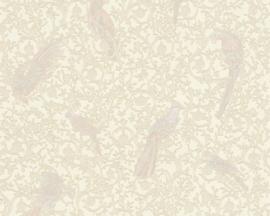 KLASSIEK VOGEL BEHANG - Goud Creme - AS Creation Versace 4