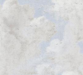 VOGELS IN DE WOLKEN BEHANG - AS Creation History of Art 37649-3