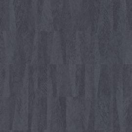 BLAUW GRIJZE BANANENBLADEREN BEHANG - Rasch Club 418927