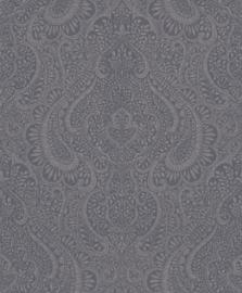 ZILVEREN ORNAMENTEN BEHANG - Rasch Textil Jaipur 227863