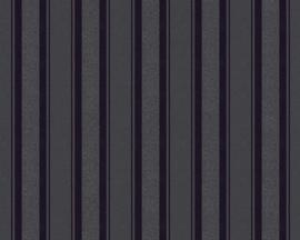 ZWART STREPEN BEHANG - AS Creation Neue Bude 2.0 361673