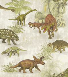 DINOSAURUS BEHANG - Rasch Kids & Teens 3 212808