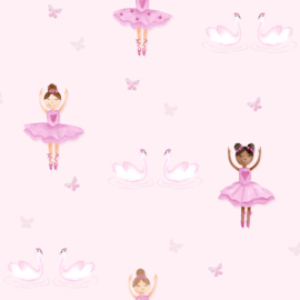 BALLERINA BEHANG - Dutch Make Believe 12460