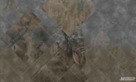 Fotobehang AFRICA (L) - Vanilla Lime Wallpaper Mural 014157