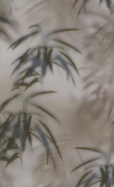 GRIJS GROENE TROPISCHE BLADEREN BEHANG - BN Wallcoverings Dimensions 219540 ✿✿✿