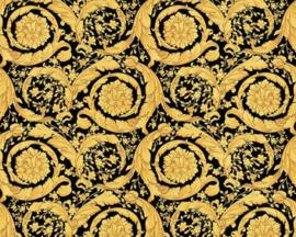 TRADITIONEEL KLASSIEK BEHANG - Zwart Goud - AS Creation Versace 4