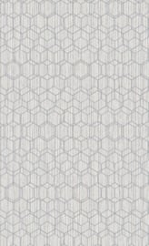 ZACHT GRIJS HEXAGON BEHANG - BN Wallcoverings Dimensions 219622