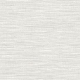 LICHT GRIJS RAFFIA STREEP BEHANG - Caselio WARA 69589120