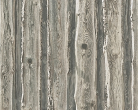 HOUT BEHANG - AS Création Dekora Natur 6 9583-72 ✿✿✿