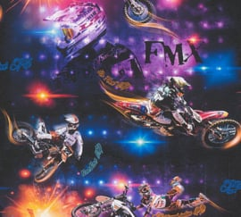 MOTORCROSS BEHANG - AS Creation Boys & Girls 6 30656-1