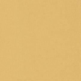 GEEL/GOUD LINNENLOOK BEHANG - Caselio Linen 68522020