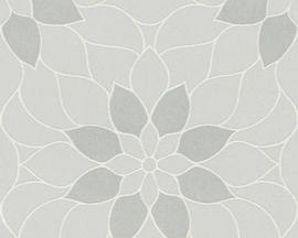 GRAFISCHE BLOEMEN BEHANG - AS Creation Neue Bude 2.0 361721