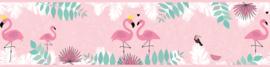 VERLIEFDE FLAMINGO BEHANGRAND - AS Creation Lovely Kids 403758