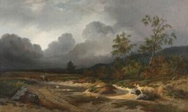 APPROACHING THUNDERSTORM 8032 FOTOBEHANG - Dutch Painted Memories