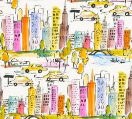 NEW-YORK GETEKEND BEHANG - AS Creation Boys & Girls 6 36753-1