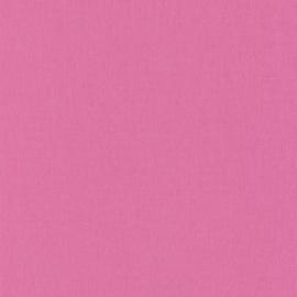 ZUURSTOK ROZE LINNENLOOK BEHANG - Caselio Linen 68524112