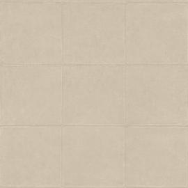 BEIGE/GRIJS GESTIKT LEDERLOOK BEHANG - ARTE Atelier CAMPO 21048