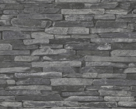 STENEN BEHANG - AS Création Best of Wood'n Stone 9142-24