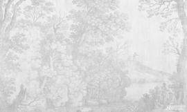 Fotobehang WOODLAND (L) - Vanilla Lime Wallpaper Mural 014173