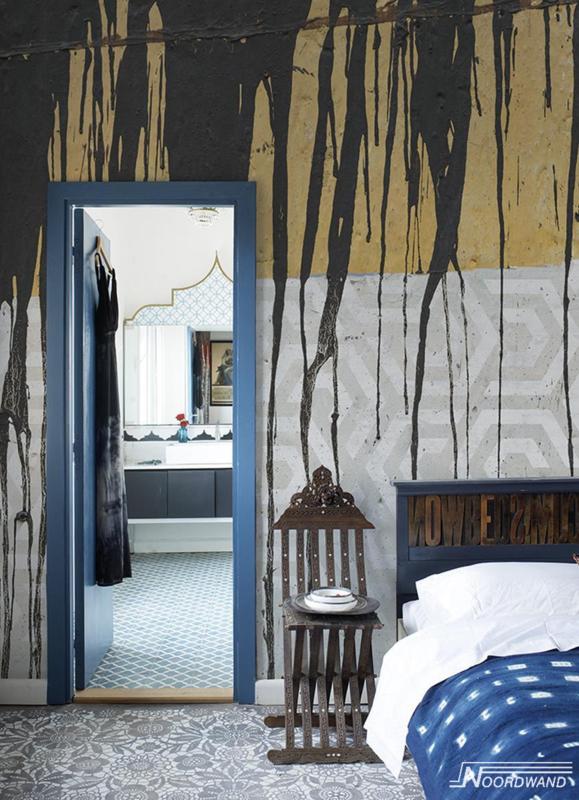 Fotobehang SPILT MILK (M) - Vanilla Lime Wallpaper Mural 014108
