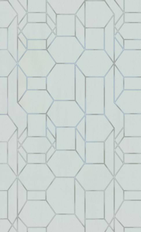 LICHT GROEN GRAFISCH BEHANG - BN Wallcoverings Dimensions 219604