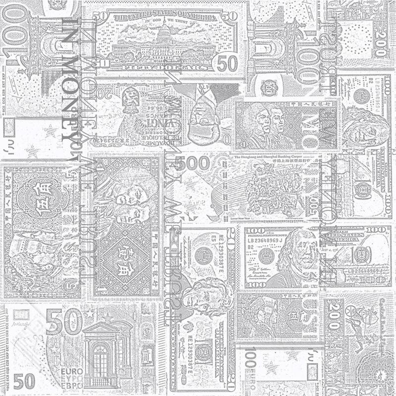 BANKBILJETTEN BEHANG - KidsWalls Thomas 27158