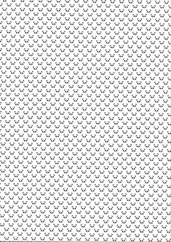 KLEINE PANDA ZWART WIT BEHANG - Noordwand Fabulous World 67101