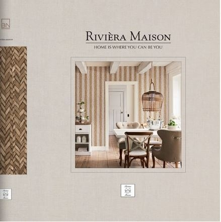 BN Wallcoverings Riviera Maison Behancollectie