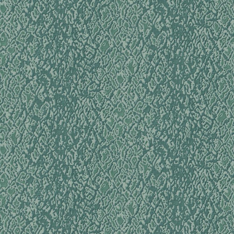 BLAUW CHIQUE ZIJDE BEHANG - Dutch Embellish DE120127