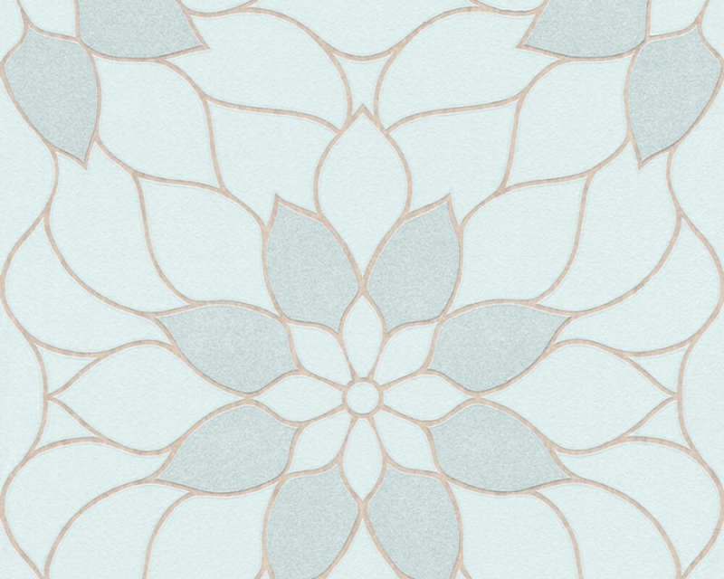 GRAFISCHE BLOEMEN BEHANG - AS Creation Neue Bude 2.0 361714