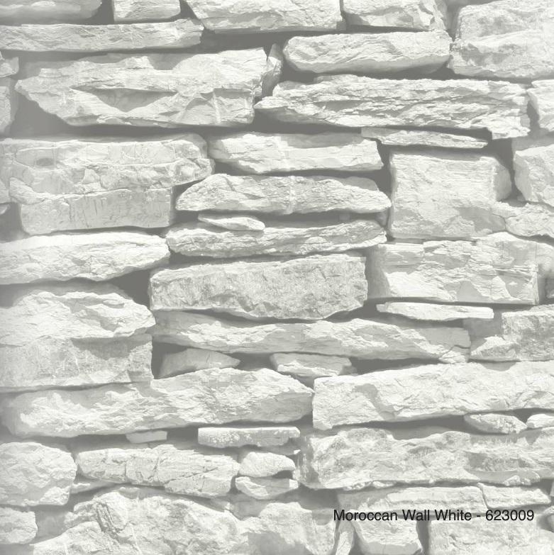MOROCCAN WALL WHITE BEHANG - Arthouse Options 2 623009