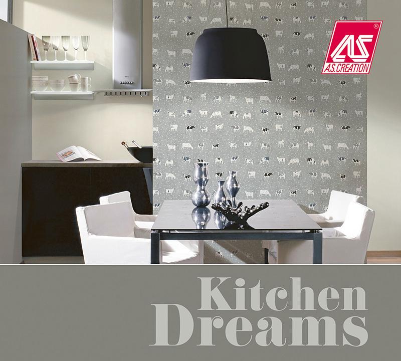 AS Creation Kitchen Dreams Behangcollectie