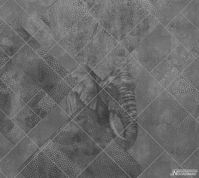 Fotobehang AFRICA (M) - Vanilla Lime Wallpaper Mural 014158
