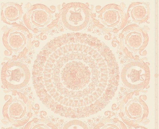 KLASSIEK ORNAMENTEN BEHANG - Roze Wit - AS Creation Versace 4