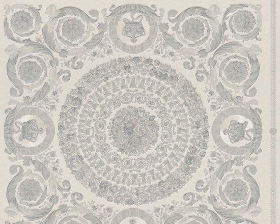 KLASSIEK ORNAMENTEN BEHANG - Zilver Grijs - AS Creation Versace 4