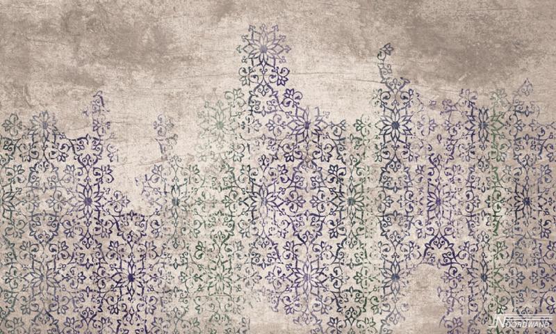 Fotobehang MARRAKECH (L) - Vanilla Lime Wallpaper Mural 014165