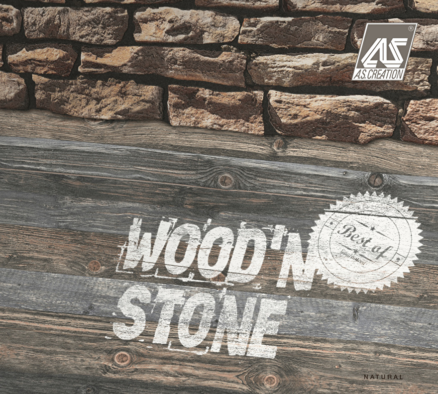 AS Creation Best of Wood'n Stone behangcollectie