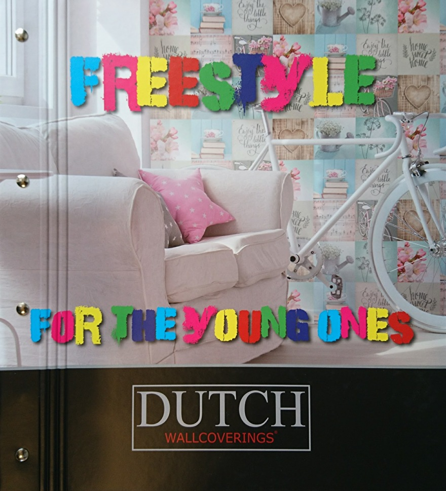 Dutch Freestyle Behangcollectie​