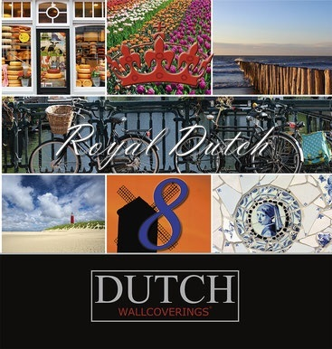 Dutch Royal Dutch 8 behangcollectie