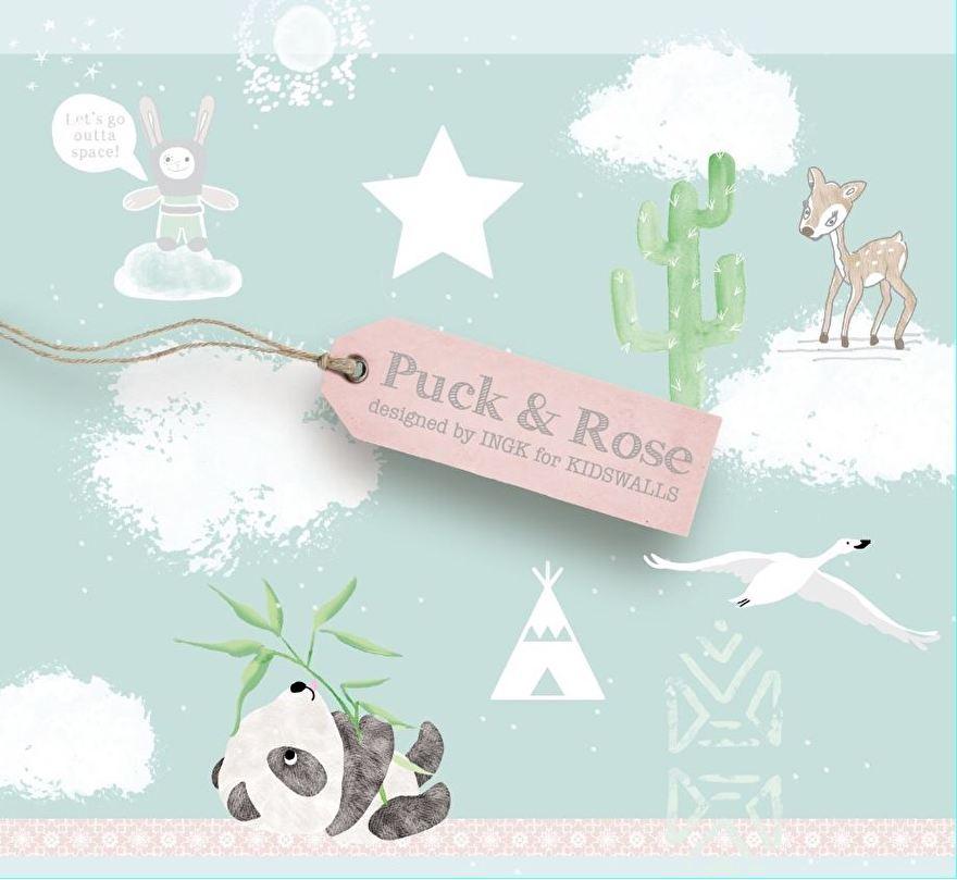 KidsWalls Puck & Rose Behangcollectie