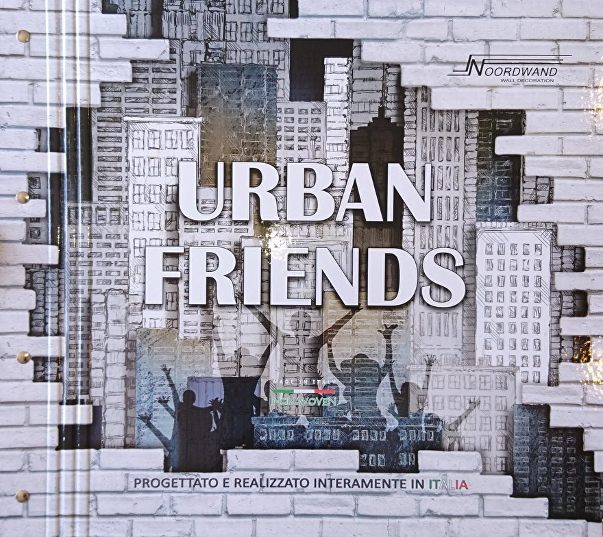 Noordwand Urban Friends Behangcollectie​