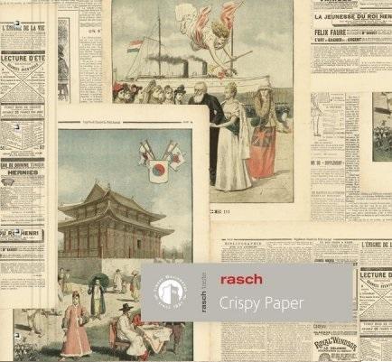 Rasch Crispy Paper behangcollectie