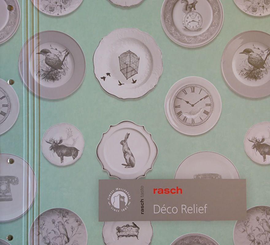Rasch Deco Relief Behangcollectie