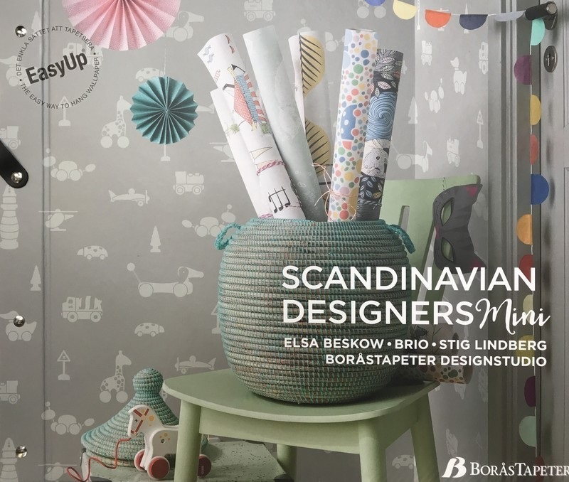 Boras Scandinavian Designer Mini Behangcollectie​