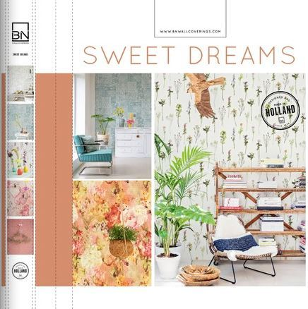 BN Wallcoverings Sweet Dreams Behangcollectie​