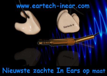 In ear zacht materiaal
