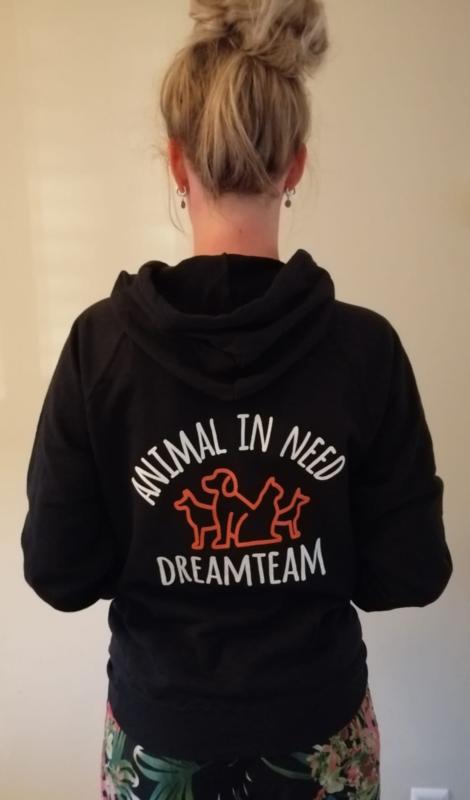 """Sweater met capuchon """"Animal in Need Dreamteam"""""""
