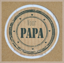 Sticker kraft Voor papa