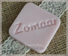 Zeepjes label-tablet Zomaar. Per 3