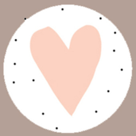 Sticker hartje